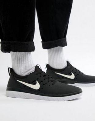 Nike SB - Nyjah Free Skateboarding - Baskets - Noir