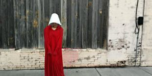 Handmaid's tale costume, cosplay, women's march 2018, Offred, Cloak and wings, resistance wear, custom made cosplay, protest, womens march