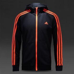 Bra bra service olika design The Adidas jacket with orange strips of Gary Unwin / Eggsy (Taron ...