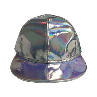 Vers le futur II aux couleurs changeantes chapeau Marty McFly Jr. Baseball Cap 2 film Costume Prop cadeau Rainbow Neon Multi couleur cadeau de haute qualité