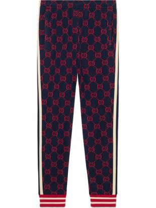 Gucci Pantalon De Jogging Jacquard GG   Farfetch