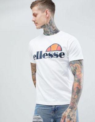 ellesse   T shirt avec logo classique   Blanc at asos.com