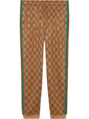 Gucci Pantalon De Jogging à Motif GG