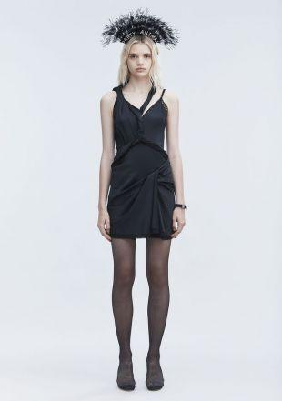 Deconstructed Twist Dress