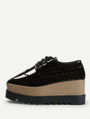 Garçons Spot On Chaussures Plateforme