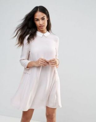 FRNCH   Robe droite à col claudine at asos.com