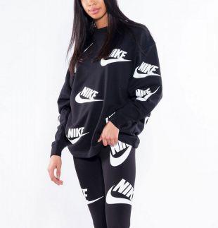 Nike Wmns Sportswear Futura Crew Sweatshirt ( AA3142 010