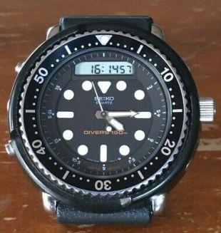 "Seiko H558-5009 Original 1980s Vintage ""Arnie"" Analog Digital Dive Watch   | eBay"