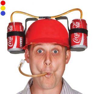 Le casque à boisson dans les Simpson