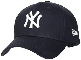 New Era MLB Basic NY Yankees 9FORTY Adjustable Navy Casquette Homme, Marine, FR Fabricant : Taille Unique