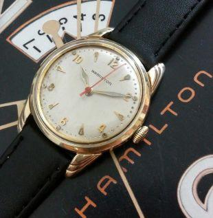 Vintage 1952 Mans Hamilton LYNDON Hand Wind Fully Serviced Ready To Wear