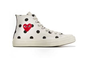 Sneakers Converse x comme des Garçons Play clip King of the