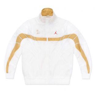 Jordan X OVO Flight Jacket White Size XL Drake Track Jacket | eBay