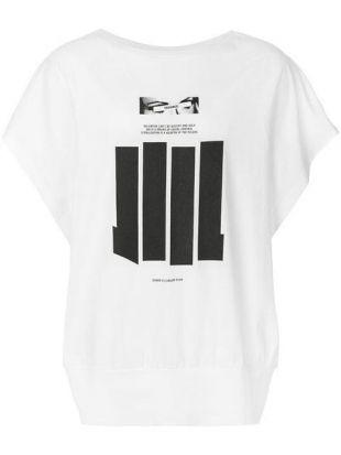 NILøS Bar Print T shirt   Farfetch