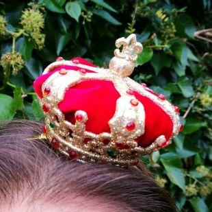 Miniature de la Couronne Reine de coeur d'Alice  au pays des merveilles