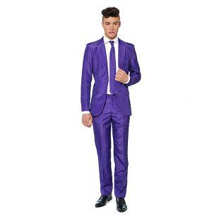 Suitmeister Solid Purple 3-pc. Suit Set