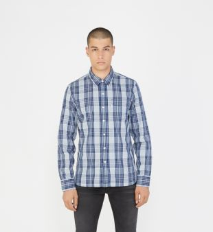 Chemise droite à carreaux   Levi'S   Galeries Lafayette