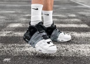 nike air more uptempo grise