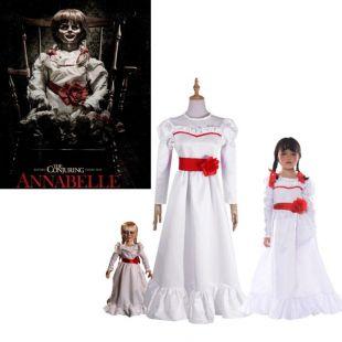 Le costume de la poupée Annabelle dans le film Annabelle