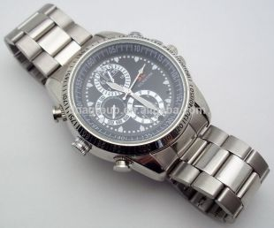 "High & Tide Men's Camera ""bussiness"" Watch"