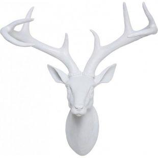Tête Cerf blanc Kare Design / 45 x 40 x 20 cm