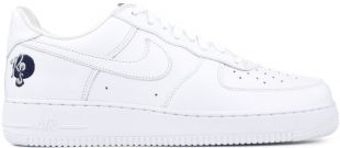 White special edition rocafella nike Air Force 1 shoes of