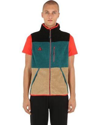 La veste sans manche Nike ACG portée par Lost Frequencies