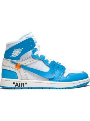 Off White Baskets Air Jordan 1 Nike x Off White   Farfetch