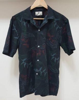 VTG Moana Shirt Co. Hawaiian impression chemise homme M/L Rare