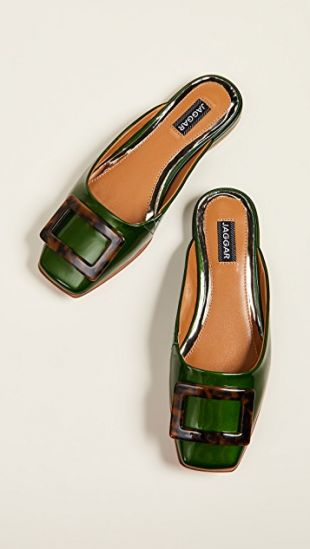 Crown Patent Mules