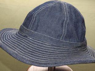 US Army WW2 DENIM DAISY MAE WORK HAT MINT Made In USA Repro Indigo Fatigue Cap  | eBay