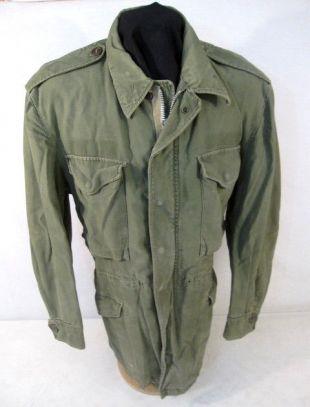 Korea War US Army M1951 M 1951 OG 107 Field Coat Jacket