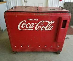 Réfrégirateur Coca Cola vintage