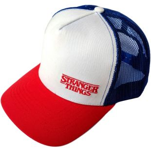 Stranger Things Cap Retro Embroidered Rare Handmade Dustin Trucker Hat