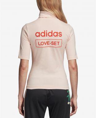 Love Mock-Neck T-Shirt