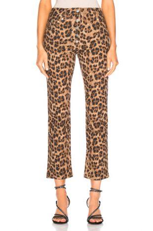 Junior Pant in Leopard   FWRD