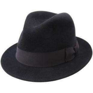 Chapeau feutre  homme Bogan noir