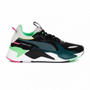 Sneakers Puma RS X black and green brought by Alonzo in his