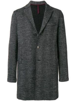 Manteau Boxy à Chevrons