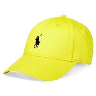 Polo Ralph Lauren Classic Cotton Baseball Cap Hat in Yellow