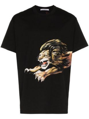 Givenchy Lion Print T Shirt