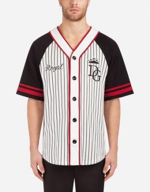 Dolce&Gabbana t-shirt en coton imprimé avec écusson