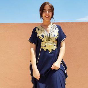 Djellaba marocaine, robe longue, caftan pour femme, robe orientale