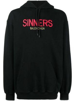 Balenciaga Sweat à Capuche Sinners