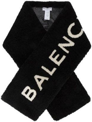 Balenciaga Echarpe à Logo