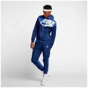 jogging nike windrunner bleu