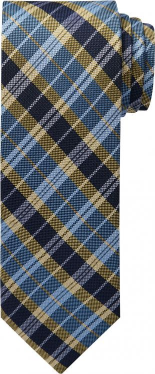 1905 Collection Plaid Tie #86N3