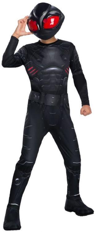 Garçons Black Manta Aquaman Dc Méchant Tv Bd Film Costume Déguisement | eBay