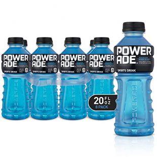POWERADE, Electrolyte Enhanced Sports Drinks w/ vitamins, Mountain Berry Blast, 20 fl oz, 8 Pack