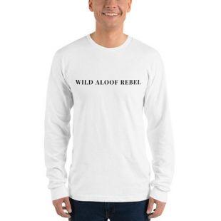 Schitt's Creek David Rose Wild Aloof Rebel Long sleeve t-shirt